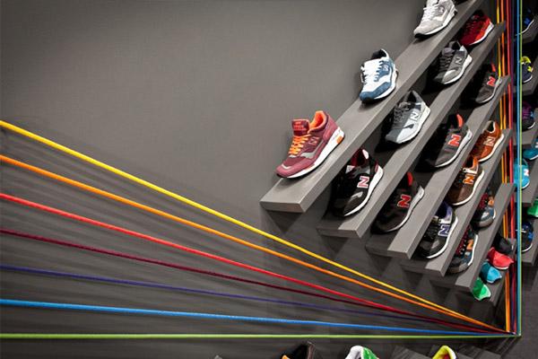 西安创意运动鞋店装修设计