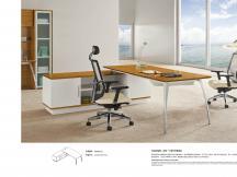 现代款老板桌