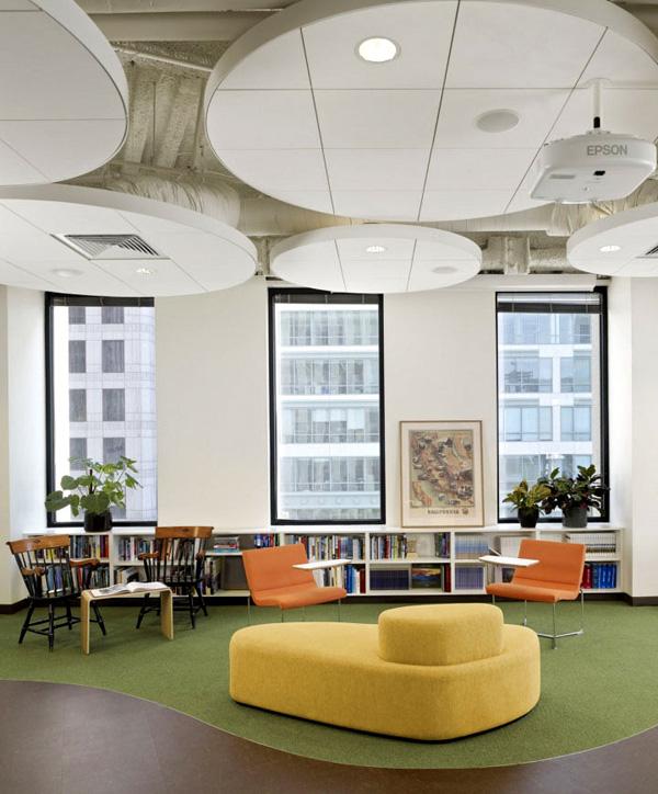 办公室书吧创意设计