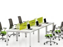 职员桌、开放式工位