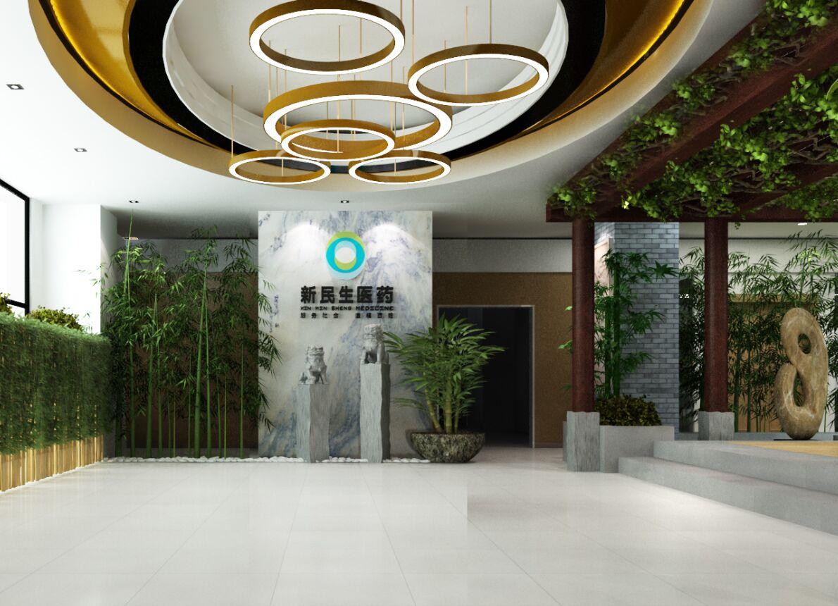 新民生医药展厅