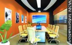 辉伟科技办公室装修设计
