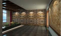 同洲里新中式办公装修设计