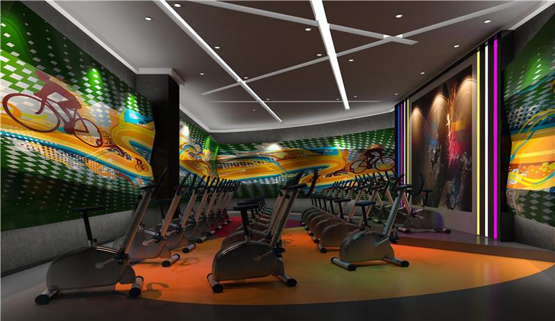 西安健身房装修设计