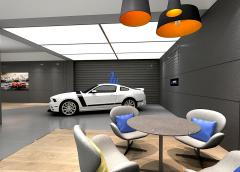 上海西海岸汽车展厅设计
