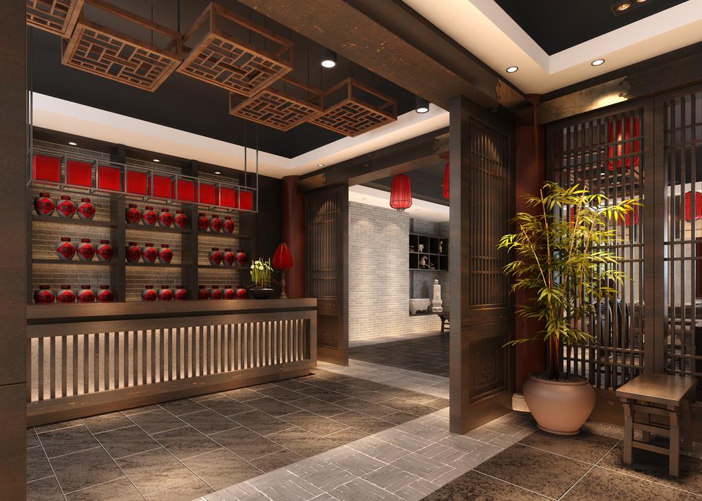 西安餐厅装修