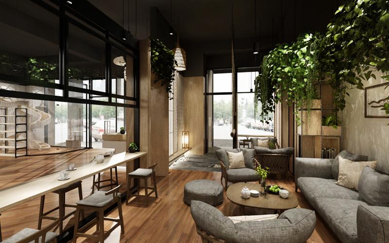 西安咖啡厅装修