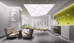 九合院办公室装修设计