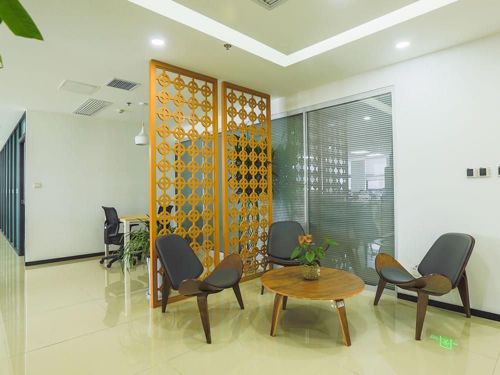 普汇中金金融办公室设计