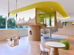 『西安欧浓装饰』安康新区453平米幼儿园装修设计方案