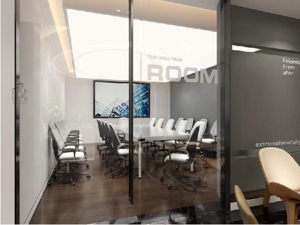 振发建筑劳务办公室装修设计