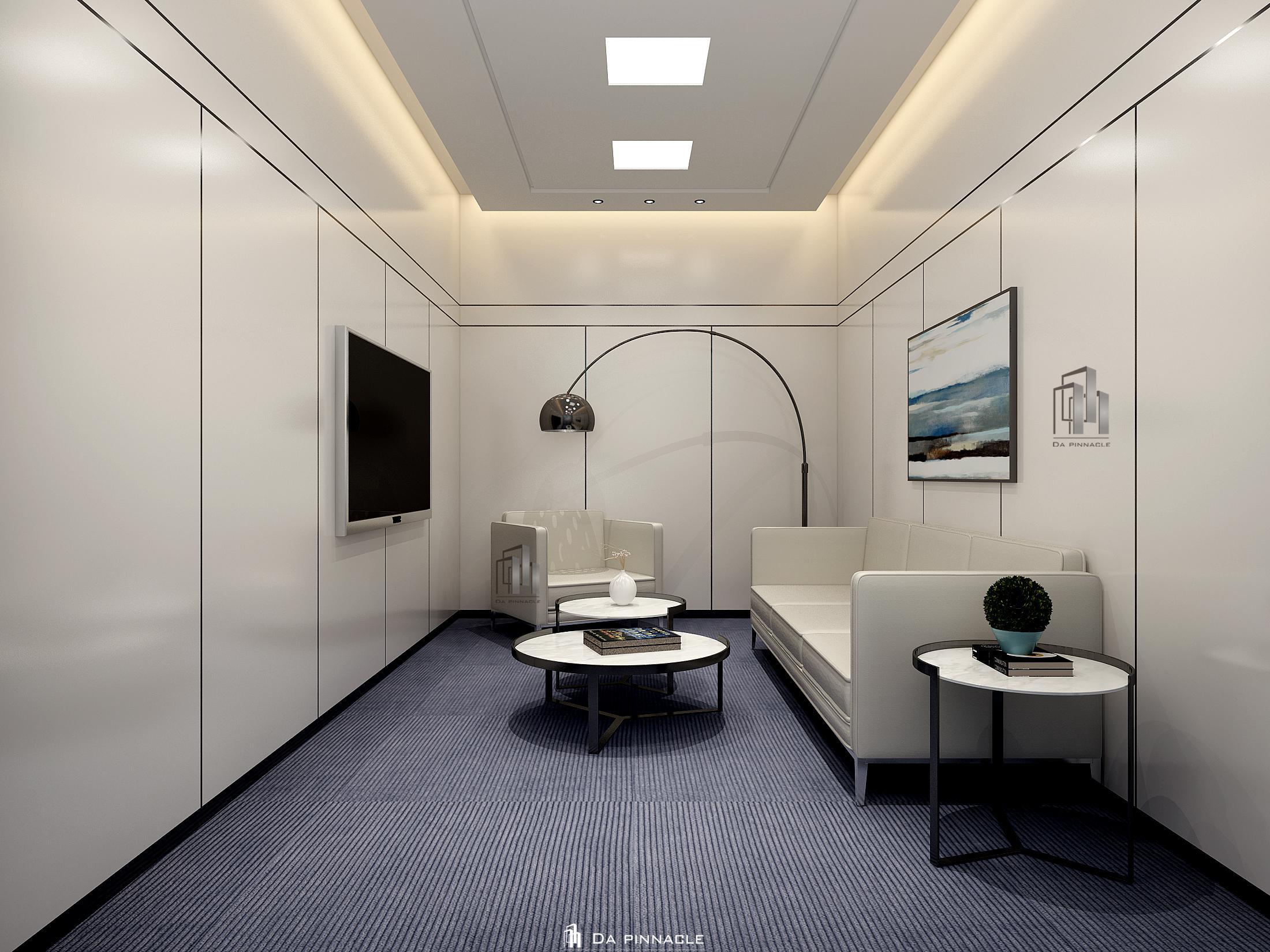 中美弘康办公室装修设计