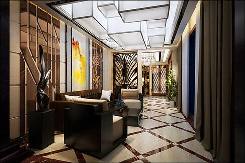 延安酒店装修设计
