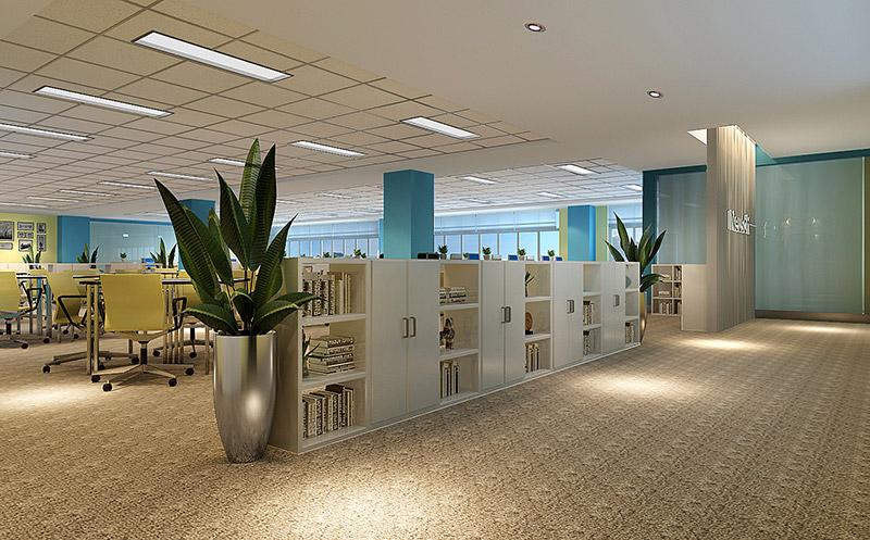 东软集团办公室装修