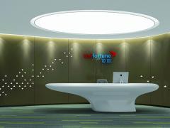 乾道金融办公室装修设计