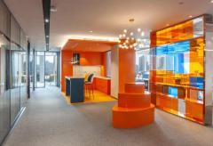 蓝橙网络办公室装修设计