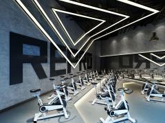 西安健身房空间装修设计