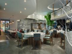 西安湘菜饭馆空间装修设计