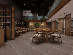 重庆味坊餐厅装修设计