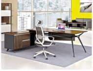迪欧家具经理老板桌大班台简约现代主管桌椅时尚老总办公电脑桌