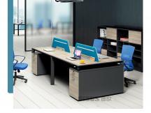2/4人单人/双人/四人位屏风隔断职员位电脑办公桌椅组合